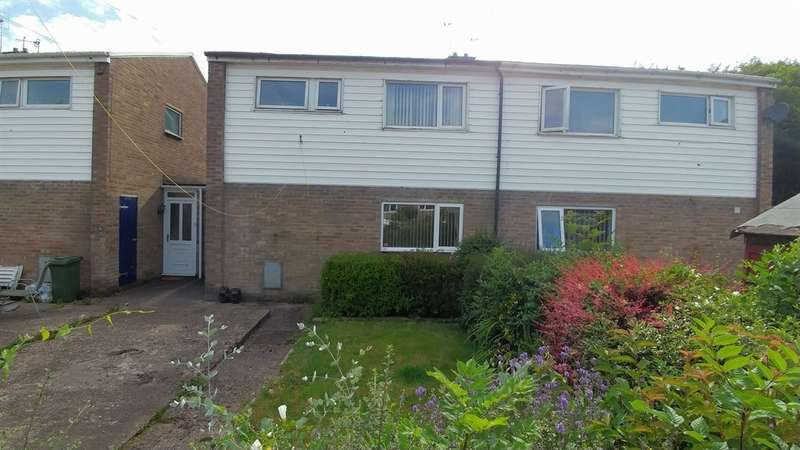 2 Bedrooms Semi Detached House for sale in Yr Hendre, Nantgarw, Cardiff