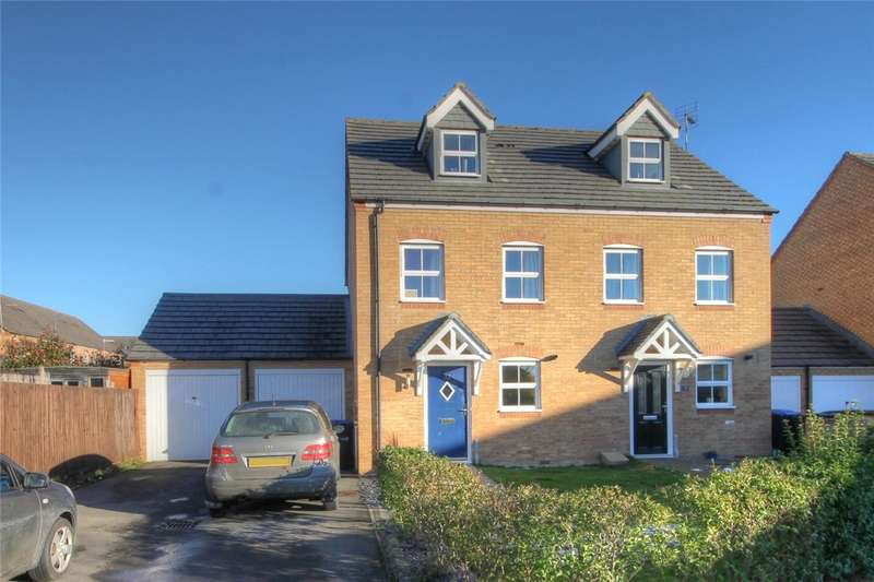 3 Bedrooms Semi Detached House for sale in Northbridge Park, St Helen Auckland, Bishop Auckland, DL14