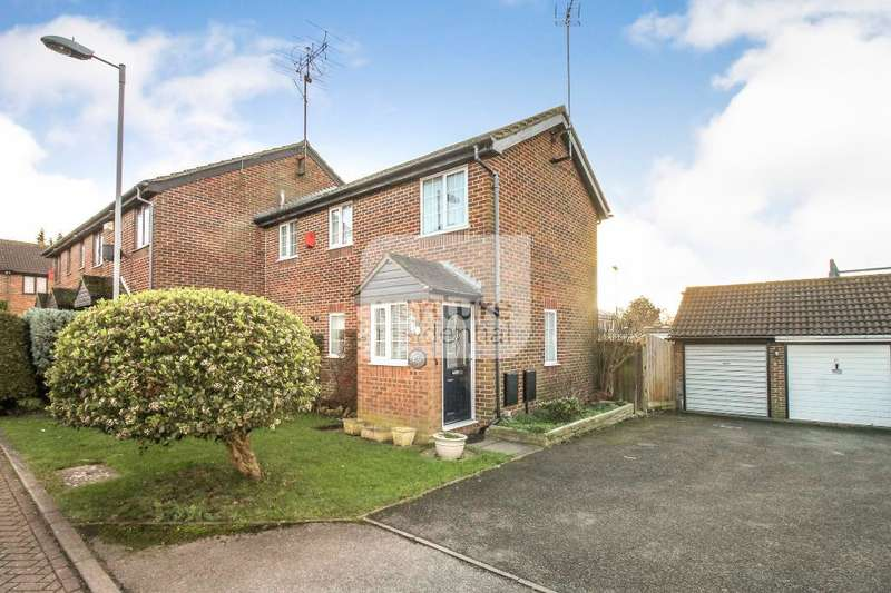 3 Bedrooms End Of Terrace House for sale in Rudyard Close, Luton, Bedfordshire, LU4 9XD