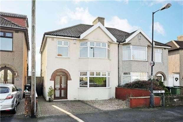 3 Bedrooms Semi Detached House for sale in Bower Road, Ashton, Bristol BS3 2LN