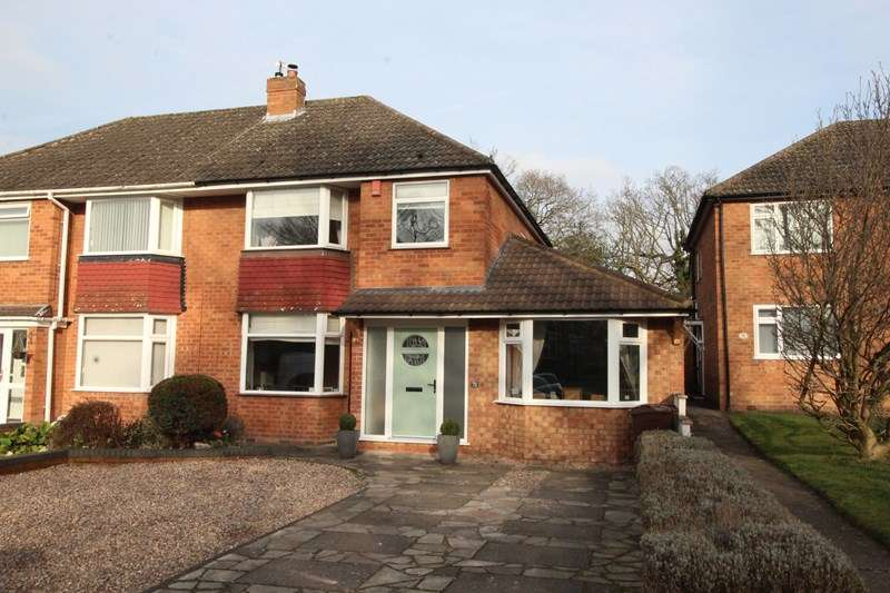 3 Bedrooms Semi Detached House for sale in Featherstone Crescent, Shirley, Solihull