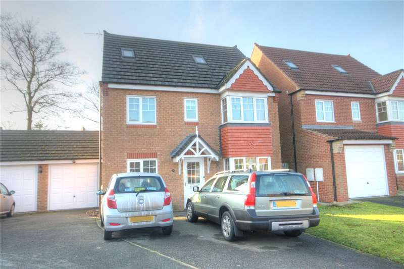 5 Bedrooms Detached House for sale in Coppice Mount, Crook, County Durham, DL15