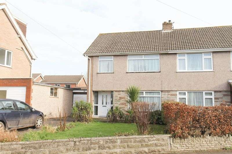 3 Bedrooms Semi Detached House for sale in Treefield Road, Clevedon