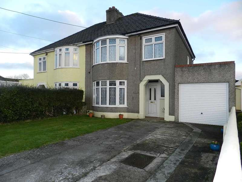 3 Bedrooms Semi Detached House for sale in Wendover, Tan Bank, Haverfordwest, Pembrokeshire