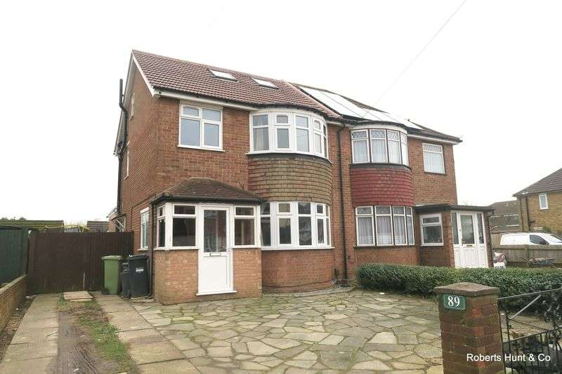 4 Bedrooms Semi Detached House for sale in BEDFONT