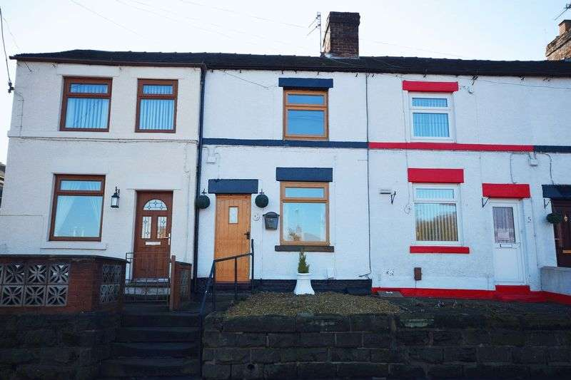 2 Bedrooms Terraced House for sale in Heaton Villas, Brown Edge