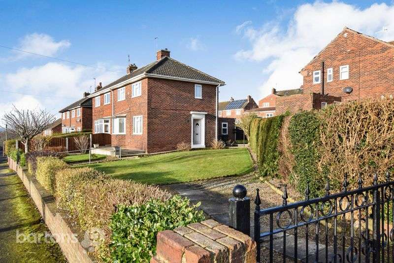 2 Bedrooms Semi Detached House for sale in Middlefields Drive, WHISTON