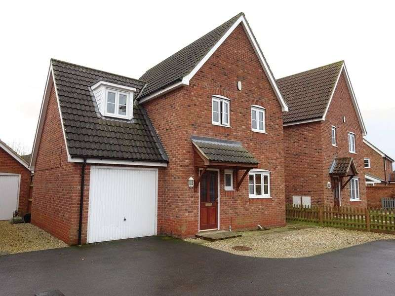 3 Bedrooms Detached House for sale in Leonard Medler Way, Hevingham, Norwich