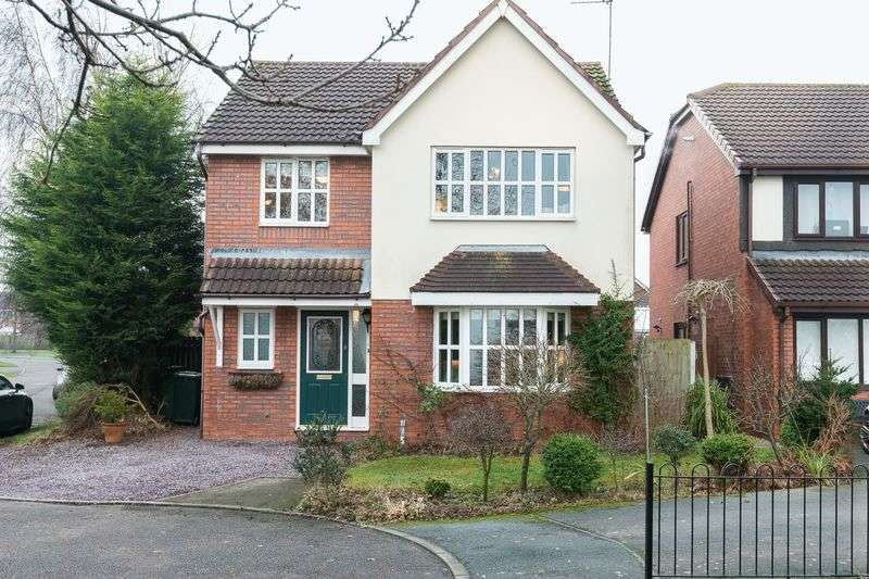 4 Bedrooms Detached House for sale in Priory Close, Burscough