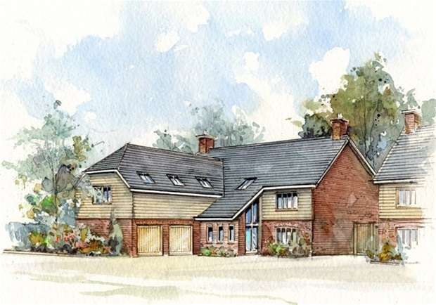 5 Bedrooms Detached House for sale in The Halve, Warminster