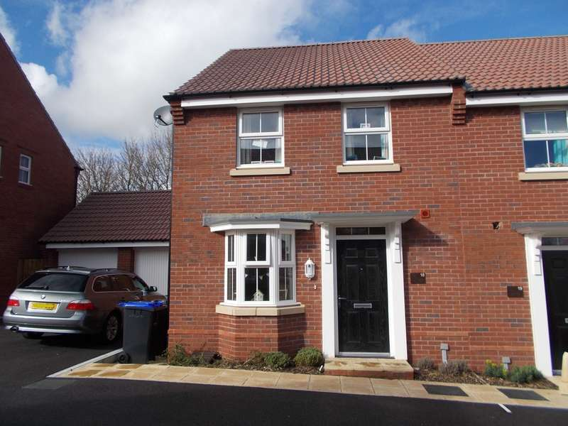 3 Bedrooms Semi Detached House for sale in Cossington Square, Westbury