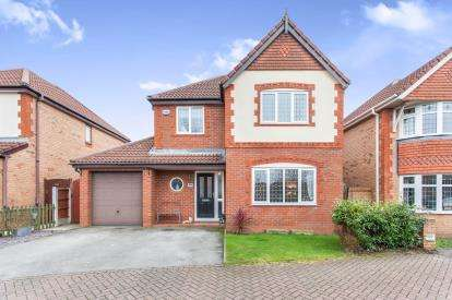 4 Bedrooms Detached House for sale in Fenwick Close, Westhoughton, Bolton, Greater Manchester, BL5