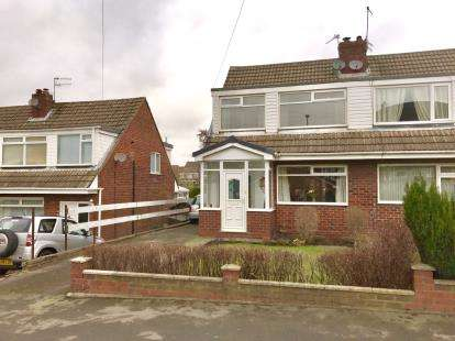 3 Bedrooms Semi Detached House for sale in Buckton Vale Road, Carrbrook, Stalybridge, Greater Manchester