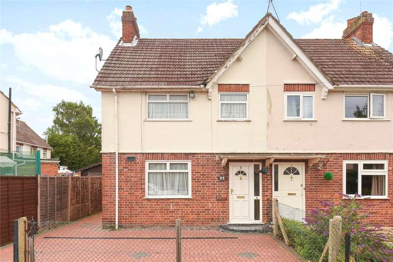 2 Bedrooms Semi Detached House for sale in Barlee Crescent, Uxbridge, UB8