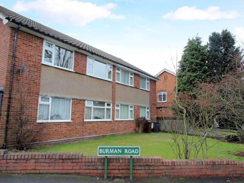 2 Bedrooms Ground Maisonette Flat for sale in Burman Road, Shirley