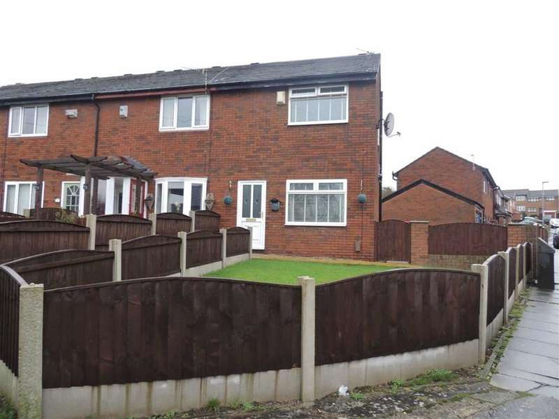 2 Bedrooms Semi Detached House for sale in Sutton Drive, Droylsden, Manchester