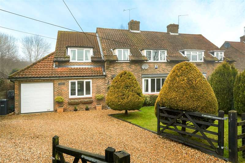 4 Bedrooms Semi Detached House for sale in Magshill Cottages, Green Lane, Chipstead, Coulsdon, CR5
