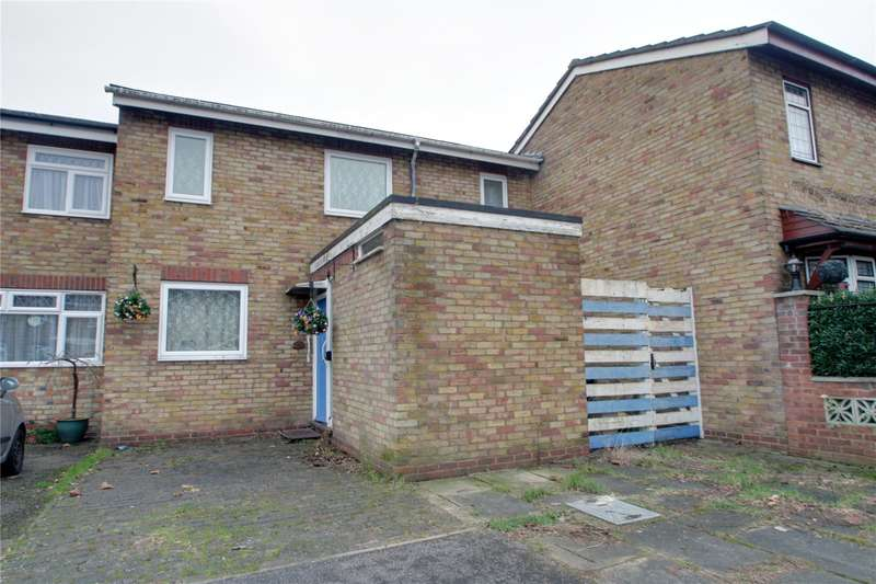 3 Bedrooms Terraced House for sale in Cowper Close, Chertsey, Surrey, KT16