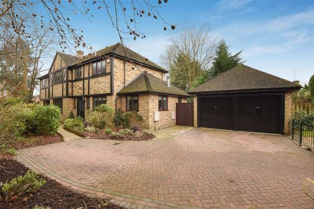 5 Bedrooms Detached House for sale in Alcot Close, CROWTHORNE, Berkshire
