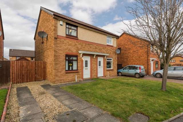 2 Bedrooms Semi Detached House for sale in MacMillan Gardens, Uddingston, Glasgow, G71 5SD