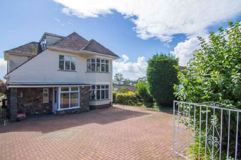 5 Bedrooms Detached House for sale in Ridgeway , Newport, South Wales. NP20 5AF