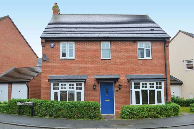 4 Bedrooms Detached House for sale in Trafalgar Way, Lichfield