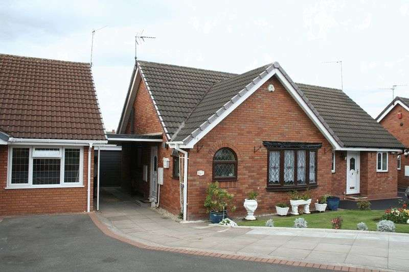 2 Bedrooms Semi Detached Bungalow for sale in KINGSWINFORD, Hillcroft Road