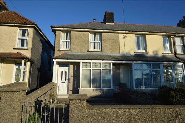 3 Bedrooms End Of Terrace House for sale in St. Cleer Road, Liskeard, Cornwall