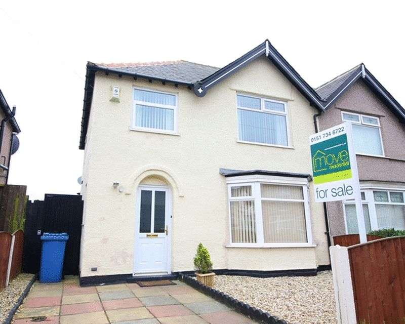 3 Bedrooms Semi Detached House for sale in Heatherdale Road, Mossley Hill, Liverpool, L18