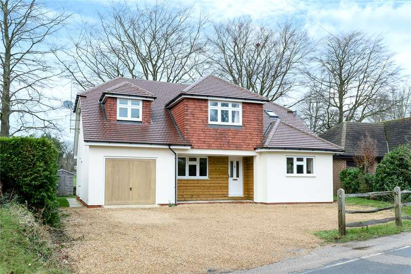 4 Bedrooms Detached House for sale in Hale House Lane, Churt, Farnham, Surrey, GU10