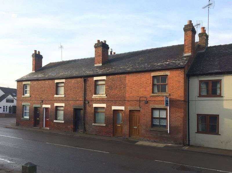 2 Bedrooms Terraced House for sale in Castle Street, Eccleshall, Staffordshire
