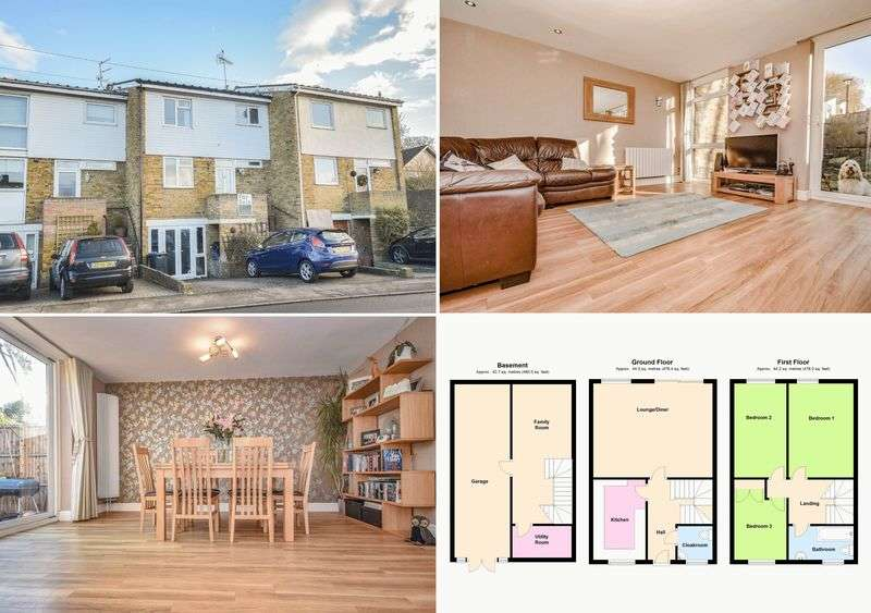 3 Bedrooms Terraced House for sale in High Oak Road, Ware