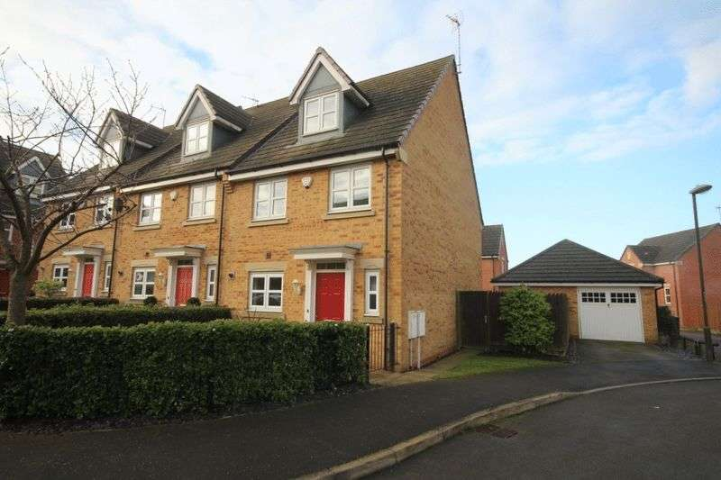 4 Bedrooms Terraced House for sale in HALL FARM WAY, SMALLEY