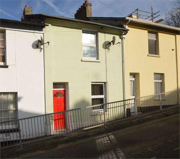 2 Bedrooms Terraced House for sale in Tudor Road, Newton Abbot, Devon. TQ12 1HT