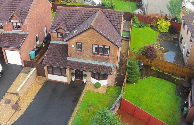 4 Bedrooms Detached House for sale in Ranfurly Drive, Carrickstone, Cumbernauld