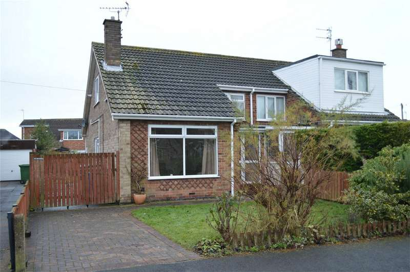 2 Bedrooms Semi Detached Bungalow for sale in 4 Ranby Crescent, Hornsea, East Riding of Yorkshire