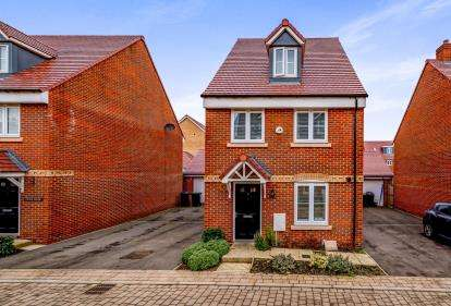 4 Bedrooms Detached House for sale in Bose Avenue, Biggleswade, Bedfordshire