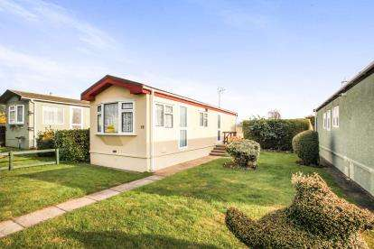 1 Bedroom Mobile Home for sale in Poplar Farm, Mobile Home Park, Castle Hill Road, Totternhoe