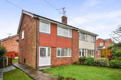 3 Bedrooms Semi Detached House for sale in Abbotts Croft, Mansfield, Nottinghamshire