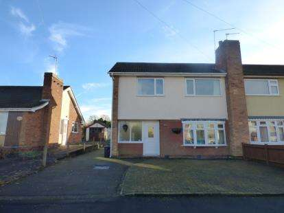 3 Bedrooms Semi Detached House for sale in Elwin Avenue, Wigston, Leicester, Leicestershire