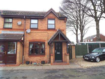 3 Bedrooms End Of Terrace House for sale in Blake Close, Cannock, Staffordshire