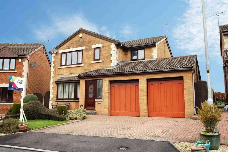 4 Bedrooms Detached House for sale in 15 Greencroft Meadow, Royton