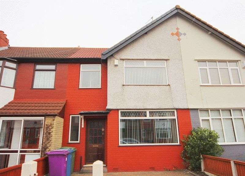 3 Bedrooms Terraced House for sale in Pitville Avenue, Mossley Hill, Liverpool, L18