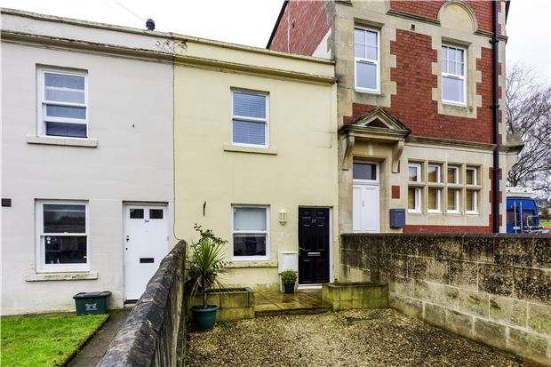 2 Bedrooms Terraced House for sale in Dafford Street, BATH, Somerset, BA1
