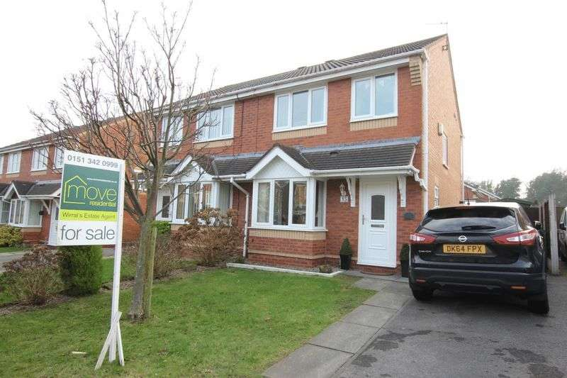 3 Bedrooms Semi Detached House for sale in Maplewood Grove, Prenton