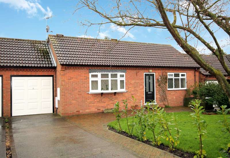 2 Bedrooms Bungalow for sale in St. Helens Rise, Wheldrake, York, YO19 6DR
