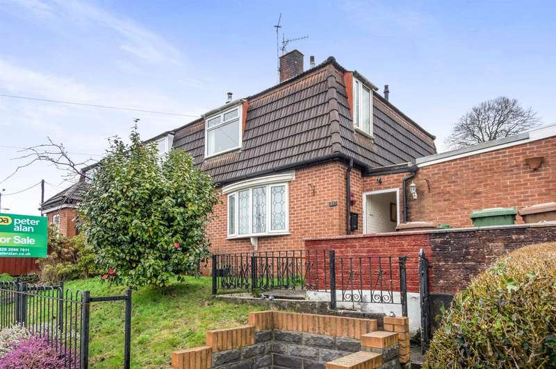 3 Bedrooms Semi Detached House for sale in Bryntirion, Bedwas, Caerphilly