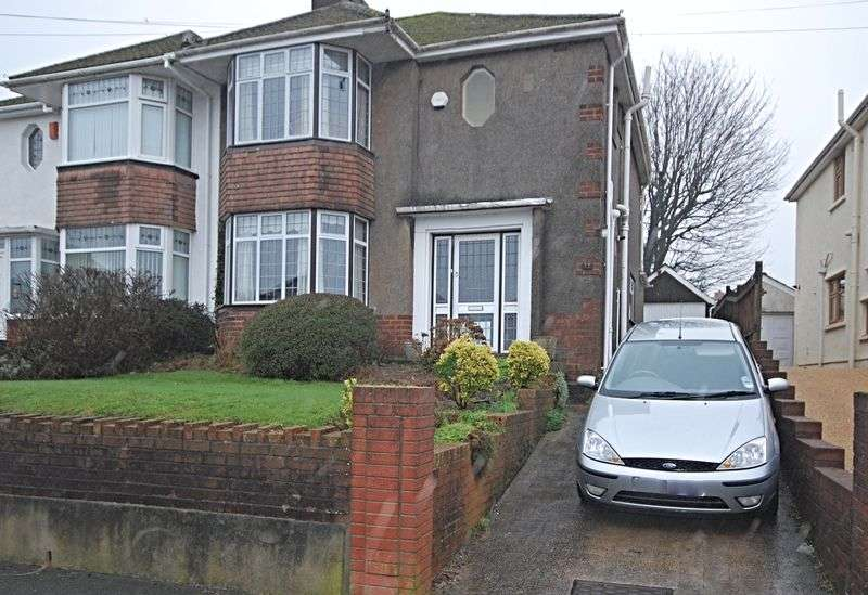 3 Bedrooms Semi Detached House for sale in Period house in Stelvio Park Drive, off Bassaleg Road