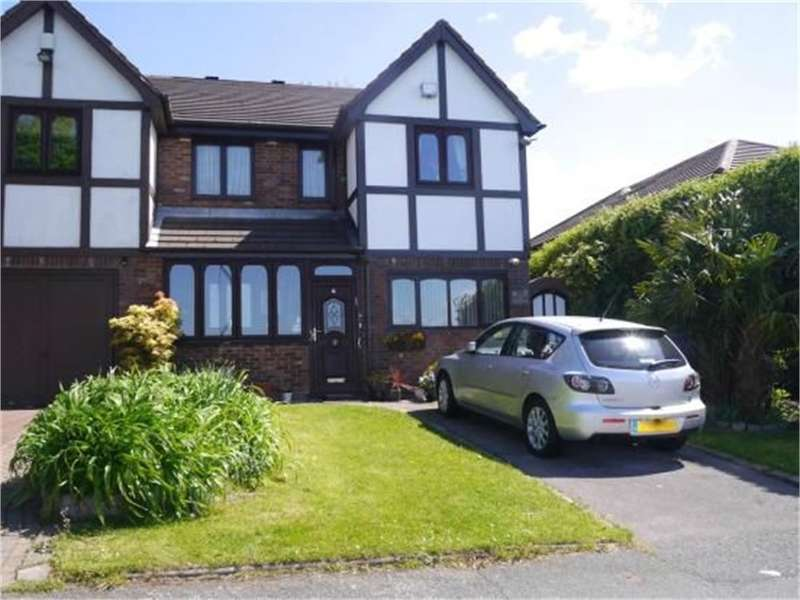 3 Bedrooms Semi Detached House for sale in The Meadows, Whitefield, Manchester, M45