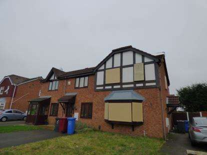 3 Bedrooms Semi Detached House for sale in Lapwing Court, Halewood, Liverpool, Merseyside, L26